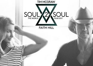 Tim McGraw and Faith Hill VIP Tickets