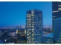 Stunning studio apartment situated in the high end Triton building