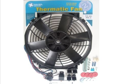 Davies Craig 12 Inch 12V Electrical Thermo Fan Kit 0062