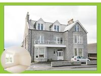LARGE MODERN EXECUTIVE TWO BEDROOM FLAT @ KINCARDINE COURT STONEHAVEN
