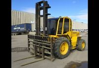 FOR SALE--SELLICK S80 RT FORKLIFT