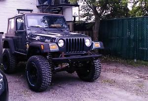 2002 jeep tj 4L manuel