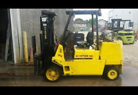 1998 HYSTER S100XL FORKLIFT FOR SALE