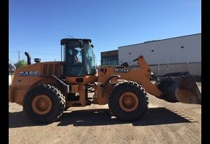 Case 821F Wheel Loader