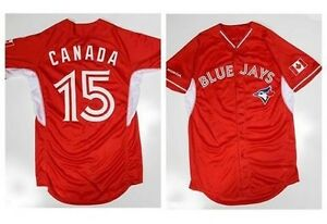 "TORONTO BLUE JAYS JERSEY ""CANADA RED"" (REPLICA)"