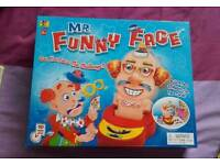 Funny face game