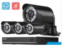 Full 4 camera hd cctv system - new but box opened