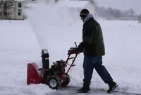 Snow Removal Services.
