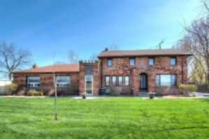 Tranquil Home Located on 3.2 Acres of Commercial Zoning