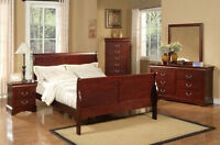 BOXING DAY SALE CONTINUE GET THIS BEDROOM SET ONLY$798 FREE DELY
