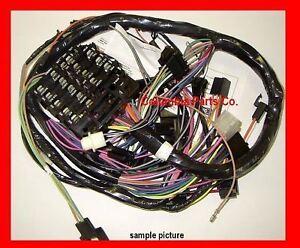 chevy nova dash wiring dash harness nova 62 67 fuse box us made chevyii