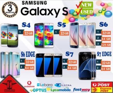 NEW&USED SAMSUNG GALAXY S8 S8+ 7 7 EDGE 6 5 4 UNLOCKED
