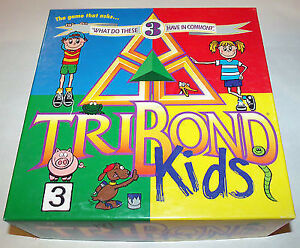 TriBond for Kids-game--complete, excellent condition London Ontario image 1
