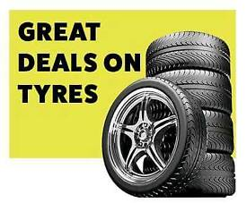Great deals on tyres