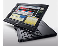 Dell Latitude TouchScreen Laptop/Tablet - State of the art - Fast and Stylish - Full working order