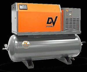 Lease/Finance a DV Air Compressor Today!! Rotary Screw or Recip
