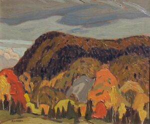 "Nice A. J. Casson Limited Edition piece ""Forks of the Credit"""