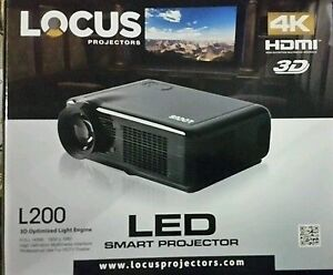 Locus L2 4K 3D 72inch Projector Home the