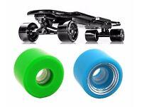 2 Matching (blockwheel) Skateboards or 1 Pair of Skates Wanted