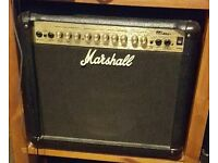 Marshall mg30dfx with pedal