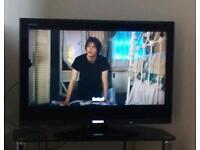 Toshiba 32 inch LCD HDTV with freeview and HDMI inputs.