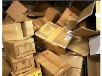 CARDBOARD BOXES FOR MOVING - FREE