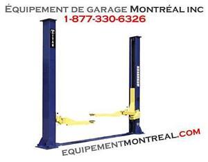 Lift 9000 lbs 2 poteaux pour garage a hauteur reduite - NEUF