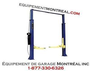 Elevateur Lift de garage 9000 lbs 2 poteaux avec plancher libre - NEUF!