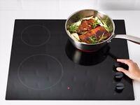 Ikea LAGAN HGC3K Glass ceramic hob, black NEW, unused