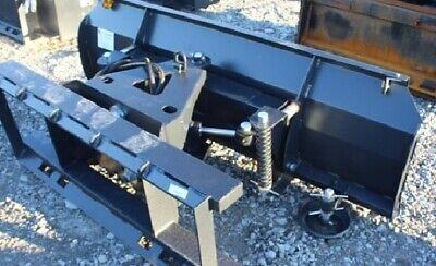 New Jct 72 Snow Plowdozer Blade Skid Steer Loader Tractor Bobcat 6 Way-3 Bolts