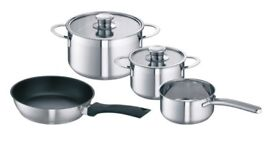 SET OF SCHULTE-UFER RONDO SAUCEPANS (BRAND NEW STILL BOXED) (REDUCED)