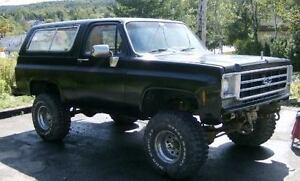Late 709s chev parts ..for blazer