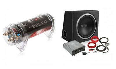 Belva BPKG112v2 600W Complete Bass Package with 12 Sub in Po