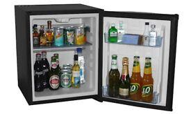 Mini fridge with ice box