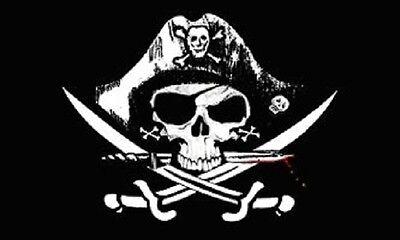 3x5 Deadman Chest Pirate Flag Tricorner Ship Banner Pennant New Jolly Roger Dead