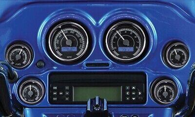 04-11 Harley Touring Grey Analog Speedometer Tachometer Gauges Gauge Kit 48067