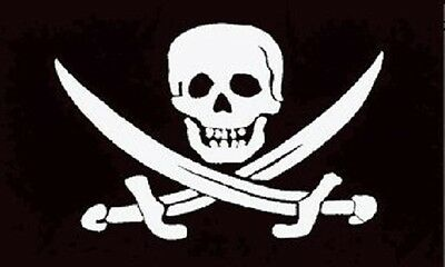 Jack Rackham Jolly Roger Pirate Flag Ship Banner Pennant 3x5 Foot Indoor Outdoor