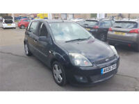 Ford Fiesta 1.4 AUTOMATIC 1.4 2006 Zetec Climate BLACK 5 DOOR ONLY 66000 MILES