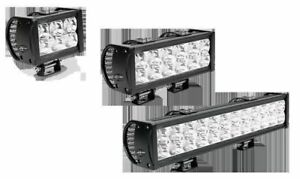 "4"" Double Row LED Light Bar - Spot (SAESW12230-8S)"