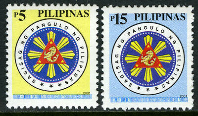 Philippines 2722-2723, MI 3245,3249, MNH. Presidential Seal, 2001