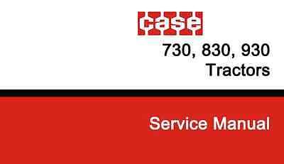 Ji Case International 730 830 930 Ck Draft O Matic Tractor Shop Service Manual