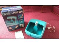 Electric Massaging Foot Spa by Clairol