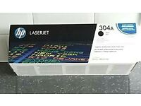 Hp laserjet black cartridge CC530A also have 2 other cartriges blue and black