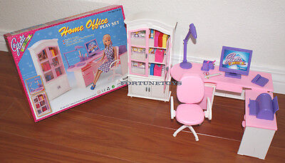 NEW FANCY LIFE DOLL HOUSE FURNITURE Home Office PLAYSET (24018)