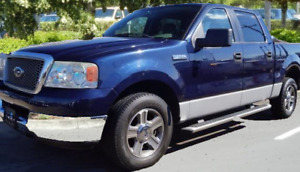 VERY LOW KM, 1 OWNER 2005 Ford F150 SuperCrew XLT 4x4 + SNOWPLOW