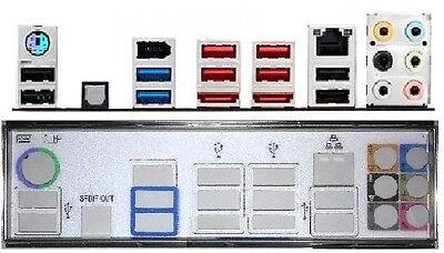 ATX Blende I/O shield Asus M5A97 EVO R2.0 #543 io schield NEU...