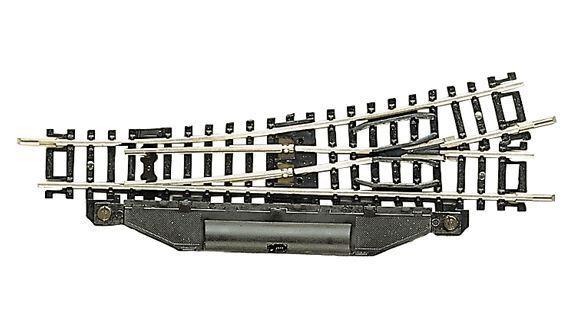 Fleischmann N 22261 Elektrische Weiche links 15°, Länge 112,6 mm NEU + OVP