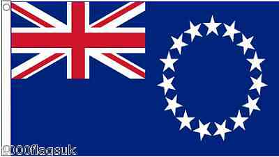New Zealand Cook Islands 3'x2' Flag