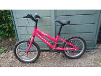 Ridgebck Melody girl's bike, used