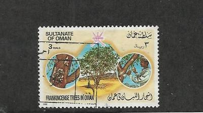 Oman, Postage Stamp, #286 Used, 1985 Trees